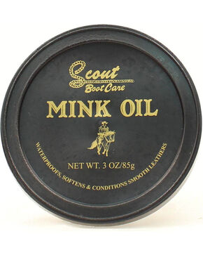 Scout Mink Oil, Black, hi-res
