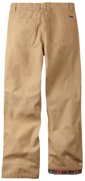 Mountain Khakis Men's Original Mountain Flannel Lined Relaxed Fit Pants, Tan, hi-res