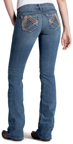 Ariat Women's Ruby Copper A Lonestar Bootcut Jeans, , hi-res