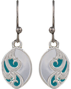Montana Silversmiths A Spring's Breeze Earrings, Silver, hi-res