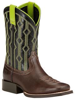 Ariat Children's Live Wire Cowboy Boots - Square Toe , , hi-res