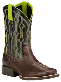 Ariat Youth Boys' Live Wire Cowboy Boots - Square Toe , , hi-res