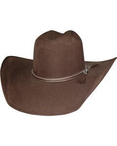 Bullhide Gitty Up Faux Felt Western Hat , Chocolate, hi-res