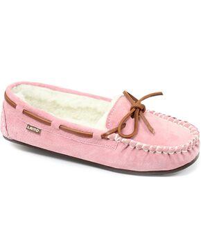 Lamo Footwear Women's Britain Moccasins, Pink, hi-res