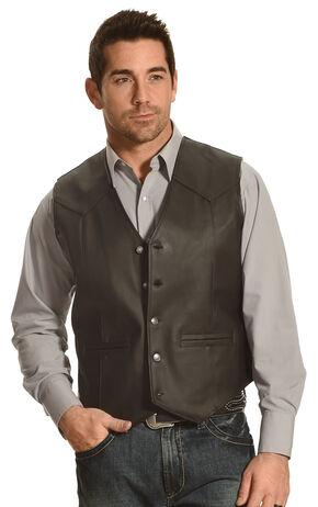 Cody James Men's Salton Sea Vest, Black, hi-res