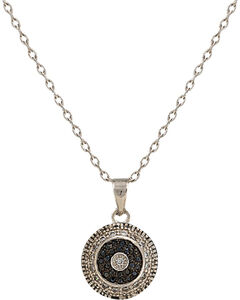 Montana Silversmiths Evening Bull's Eye Necklace, , hi-res