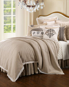 HiEnd Accents Cream Charlotte Bedding Collection - King, , hi-res
