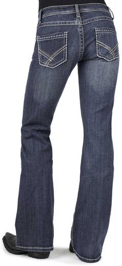 Stetson Women's 816 Classic Fit Bootcut Jeans - Plus, , hi-res