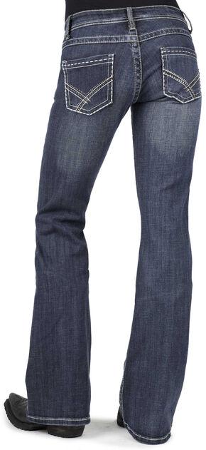 Stetson Women's 816 Classic Fit Bootcut Jeans - Plus, Denim, hi-res