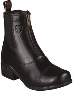 Ariat Heritage Paddock Zip-Up Riding Boots - Round Toe, , hi-res