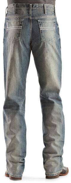 Cinch Indigo White Label Light Stonewash Jeans, , hi-res