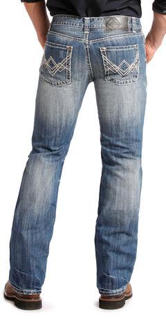 "Rock and Roll Cowboy Pistol Regular Fit ""A"" Jeans - Straight Leg  , , hi-res"