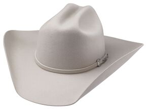 Tony Lama Low Rodeo Silverbelly 3X Wool Felt Cowboy Hat, Silverbelly, hi-res