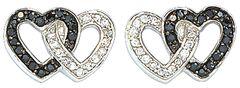 Montana Silversmiths Double Heart Earrings, , hi-res