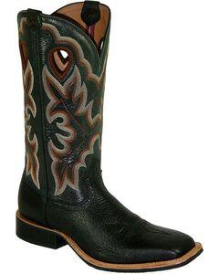 Twisted X Men's Ruff Stock Shoulder Cowboy Boots - Square Toe , , hi-res
