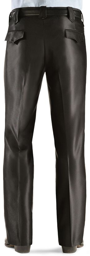 Circle S Plano Sharkskin Slacks, Black, hi-res