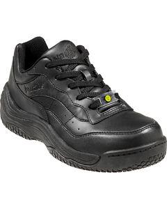 Nautilus Men's Black Ergo Slip-Resistant Athletic Work Shoes , , hi-res