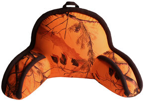Carstens Home Realtree Blaze Orange Camo Lounge Pillow, Camouflage, hi-res