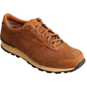 Twisted X Men's Brown Athleisure Shoes, Brown, hi-res