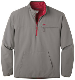 Mountain Khakis Men's Alpha Switch Reversible 1/4-Zip Pullover, Charcoal Grey, hi-res