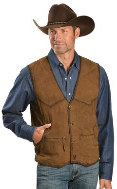 Scully Suede Leather Vest, , hi-res
