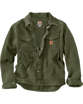 Carhartt Men's Moss Berwick Jacket - Big & Tall, Moss, hi-res