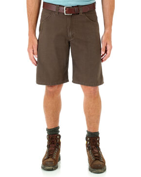 Wrangler Men's RIGGS WORKWEAR® Technician Shorts - Big and Tall , Dark Brown, hi-res