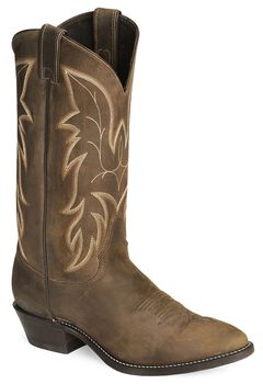Justin Bay Apache Basic Western Cowboy Boots - Medium Toe, , hi-res