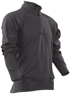 Tru-Spec Men's Grey 24-7 Cross-Fit Grid Fleece Pullover , , hi-res
