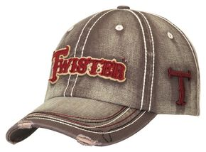 Twister Grey Logo Cap, Grey, hi-res