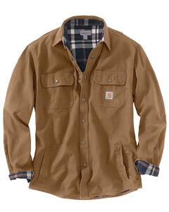 Carhartt Canvas Work Shirt Jacket - Big & Tall, , hi-res