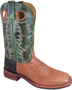 Smoky Mountain Men's Ryan Western Boots - Square Toe , , hi-res