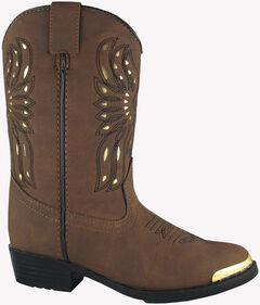 Smoky Mountain Toddler Boys' Phoenix Western Boots - Round Toe, , hi-res