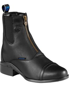 Ariat Heritage H2O Zipper Riding Boots - Round Toe, , hi-res