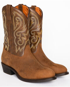 Cody James Men's Embroidered Western Boots - Round Toe, , hi-res