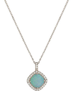 Montana Silversmiths River Lights Pools in Winter Necklace, , hi-res