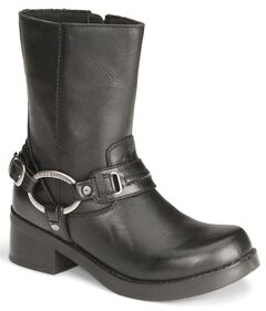 Harley Davidson Christa Women's Harness Boots , , hi-res