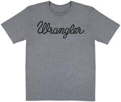 Wrangler Men's Grey Logo T-Shirt, , hi-res