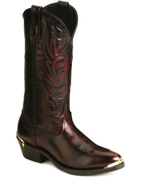 Laredo Trucker Cowboy Work Boots, Burnt Apple, hi-res