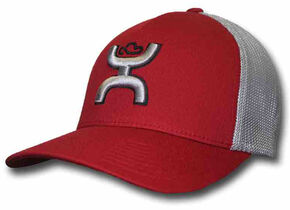Hooey Men's Red Coach Hat, Red, hi-res