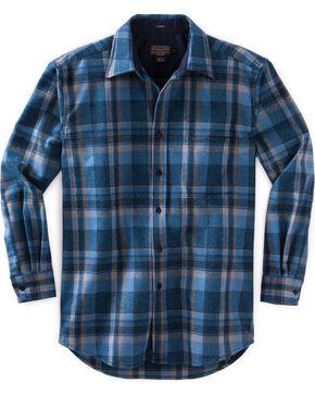 Pendleton Men's Indigo Ombre Lodge Shirt , Indigo, hi-res