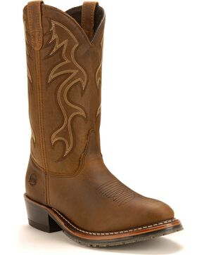 Double H Black Ice Western Work Boots, Briar, hi-res