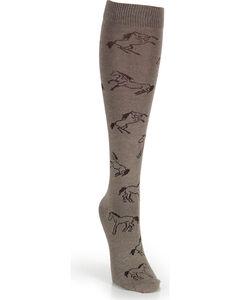 Wrangler Women's Horse Boot Socks, , hi-res