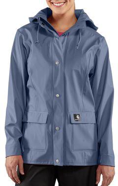 Carhartt Waterproof Blue Medford Jacket, , hi-res