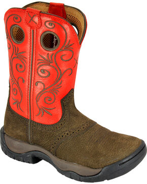 Twisted X Women's All Around Cowgirl Boots - Round Toe, Brown, hi-res