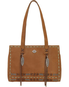 American West Mohican Melody Collection Shopper Tote, , hi-res
