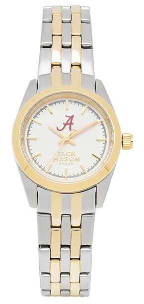 Jack Mason Women's University of Alabama Two-Tone Bracelet Watch , Multi, hi-res