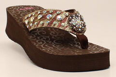Blazin Roxx Women's Breann Flip Flops, , hi-res