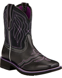 Ariat Ranchbaby II Cowgirl Boots - Square Toe , , hi-res