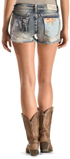Grace in LA Women's Beach Comber Cutoff Shorts, , hi-res